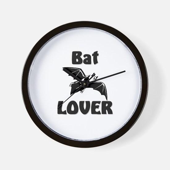 Bat Lover Wall Clock