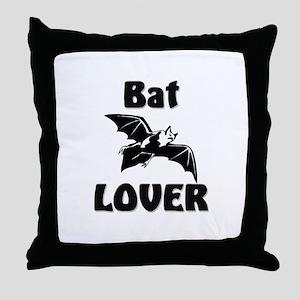 Bat Lover Throw Pillow