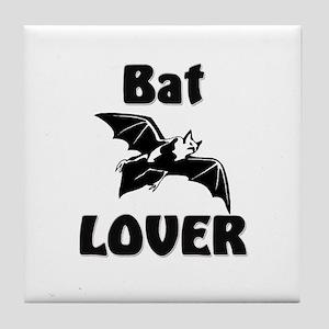 Bat Lover Tile Coaster