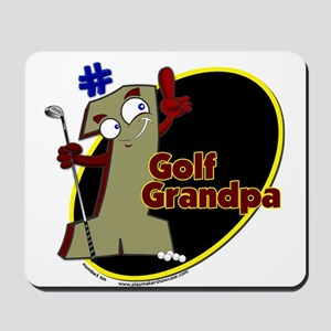 Number 1 Golf Dad Mousepad
