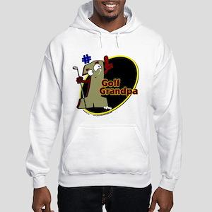 Number 1 Golf Dad Hooded Sweatshirt