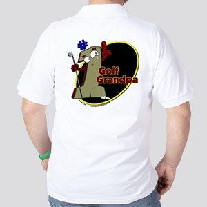 Number 1 Golf Dad Golf Shirt
