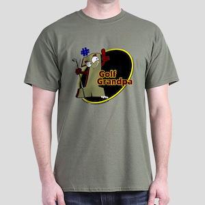 Number 1 Golf Dad Dark T-Shirt