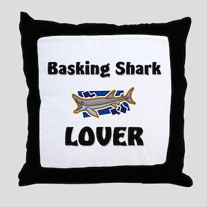 Basking Shark Lover Throw Pillow