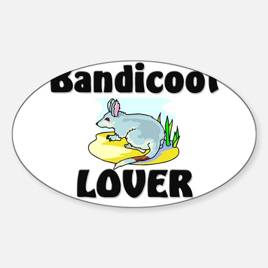 Bandicoot Lover Oval Decal