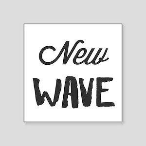 New Wave Sticker