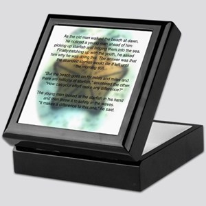 Starfish Wisdom Keepsake Box