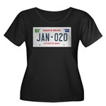 Obama License Plate Women's Plus Size Scoop Neck D
