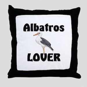 Albatros Lover Throw Pillow
