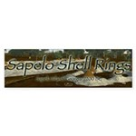 Sapelo Shell Rings Bumper Sticker