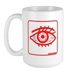 RED EYE! Large Mug