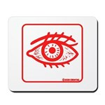 RED EYE! Mousepad