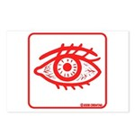 RED EYE! Postcards (Package of 8)