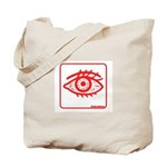 RED EYE! Tote Bag