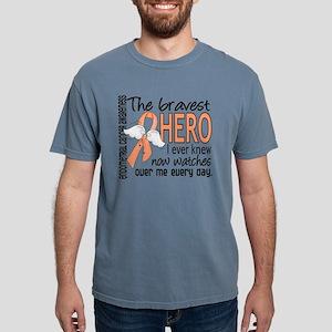 Bravest Hero I Knew Endometrial Cancer T-Shirt