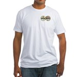 Travel Addict 'Style 2' Fitted T-Shirt