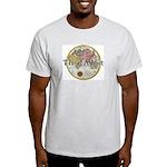 Travel Addict 'Style 2' Ash Grey T-Shirt