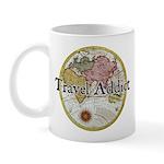 Travel Addict 'Style 2' Mug