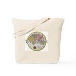 Travel Addict 'Style 2' Tote Bag