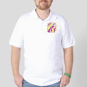 Triplets for MVP Golf Shirt