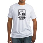 Silent Review Fitted T-Shirt
