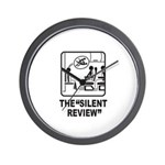 Silent Review Wall Clock