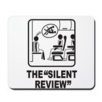 Silent Review Mousepad