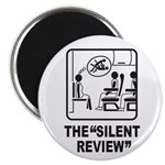 Silent Review Magnet