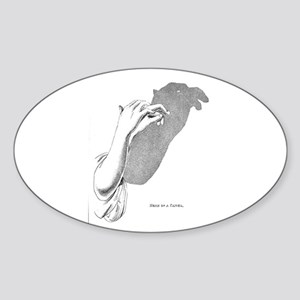 ENFP Personality Profile Oval Sticker