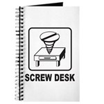 Screw Desk Journal