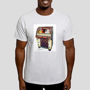 Seeburg M100W Jukebox Ash Grey T-Shirt
