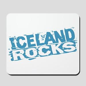 Iceland Rocks Mousepad