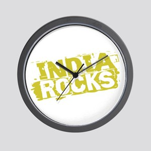India Rocks Wall Clock