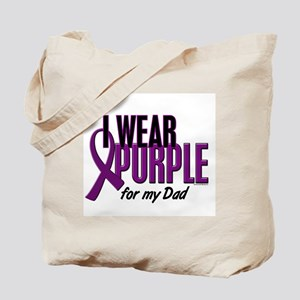 I Wear Purple For My Dad 10 Tote Bag