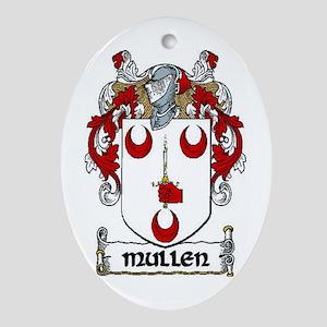 Mullen Coat of Arms Keepsake Ornament