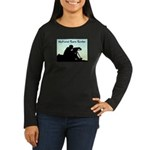 Natural Born Birder Women's Long Sleeve Dark T-Shi
