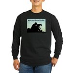 Natural Born Birder Long Sleeve Dark T-Shirt
