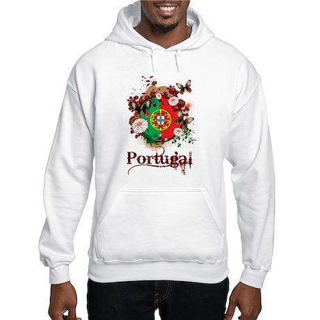 Butterfly Portugal Hooded Sweatshirt