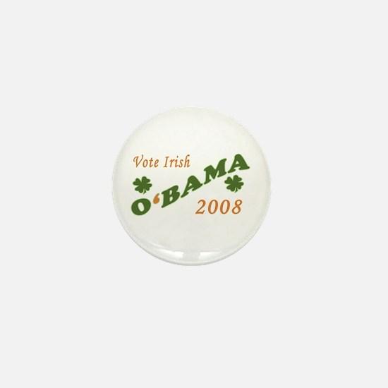 O'BAMA 2008 - Vote Irish Mini Button