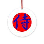 Samurai Ornament (Round)