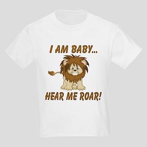 Funny Hear Me Roar Kids Light T-Shirt