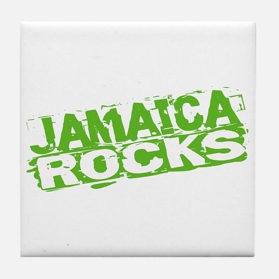 Jamaica Rocks Tile Coaster