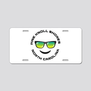 North Carolina - Pine Knoll Aluminum License Plate