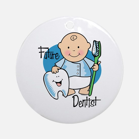 Future Dentist Ornament (Round)