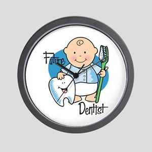 Future Dentist Wall Clock