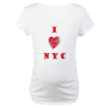 I love NYC Maternity T-Shirt