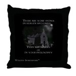 Ghost Hunting Throw Pillow
