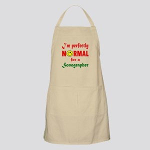 I'm perfectly normal for a Space nursi Light Apron