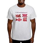 Talidari's Pink Paintings Light T-Shirt