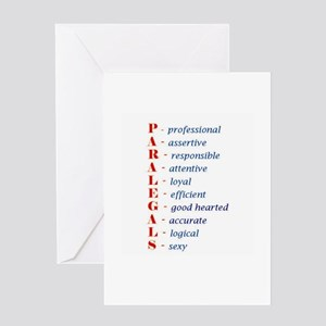 Paralegals Greeting Card